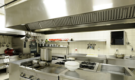 Restaurant Kitchen Ventilation commercial kitchen exhaust vent hood system installation repair