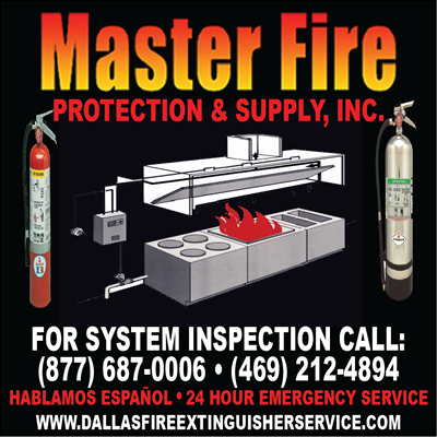 kitchen fire system inspection for dallas fort worth texas