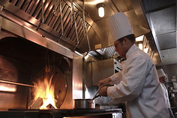 Ansul Kitchen Restaurant Fire Suppression System Installation ...