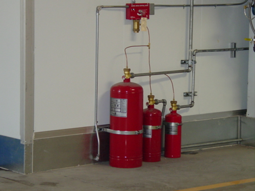 dallas texa paint booth fire suppression system inspection repair and service