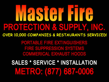 fort worth fire extinguisher and kitchen fire systems