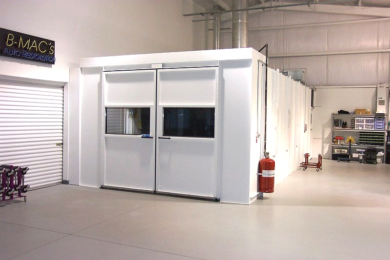 fort worth paint spray booth fire suppression systems