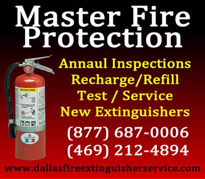 fire extinguisher inspections for dallas fort worth texas