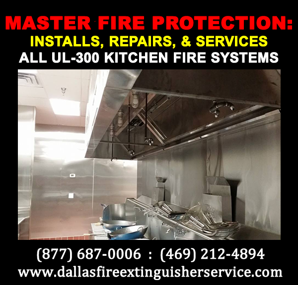 kitchen fire systems of fort worth texas inspections