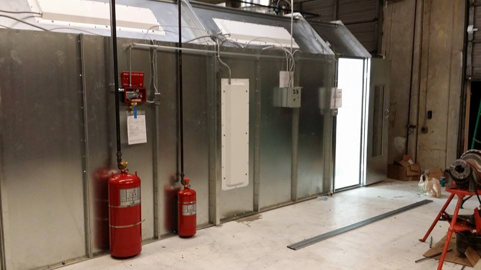 paint booth fire systems of dallas texas