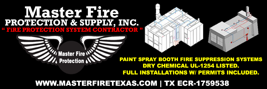 dallas fort worth texas paint spray booth fire suppression system inspection, service, & installation